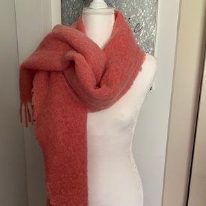 Beautiful J Crew scarf/wrap fringe